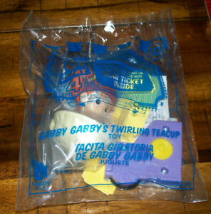 McDonalds Happy Meal Toy Story 4 #10 Gabby Gabby's Twirling Teacup Sealed NIP