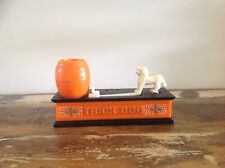 TRICK DOG VINTAGE MONEY BOX TOY COLLECTORS RARE MONEY BANK antique