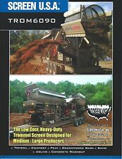Equipment Brochure - Screen USA - TROM 6090 - Trommel Screen (E3641)
