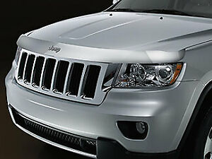 11-21 JEEP GRAND CHEROKEE FRONT AIR DEFLECTOR BUG SHIELD OEM NEW MOPAR 82212046