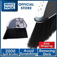 White Magic Outdoor Sweeper Replacement Head Catch Large Items Leaves and Grass