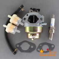 """Carburetor Kit For Troy Bilt TB240 Lawn Mower 160cc 12AVB2AQ711 21"""" Fuel Filter"""