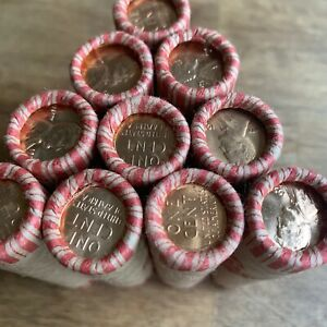 Wheat Penny BU Ender / Wheat Rolls Unsearched Cents Pennies BU US Wheats