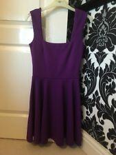 Miss Selfridge Purple Skater Dress