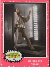 Star Wars JTTFA Neon Parallel Base Card #35 Across the chasm