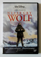 Never Cry Wolf Biologist Wolves Caribou Wilderness Arctic Nature Movie on DVD
