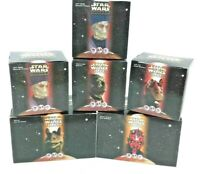 Star Wars  Episode 1 The Phantom Menace 1999 6 Boxes Darth Maul's Sith Speeder..