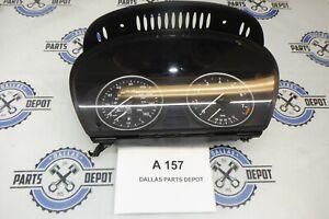 2009 BMW E60 535i SPEEDOMETER INSTRUMENT CLUSTER PANEL OEM USED 62109194887
