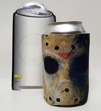 FRIDAY THE 13th Horror Film Jason Voorhees Mask CAN KOOZIE COOLIE HOLDER COOLER