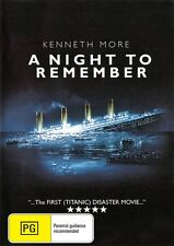A NIGHT TO REMEMBER - TITANIC - NEW & SEALED DVD FREE LOCAL POST