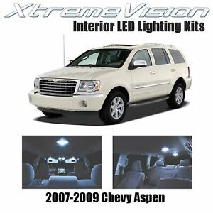 XtremeVision LED for Chrysler Aspen 2007-2009 (14 Pieces) Cool White Premium Int