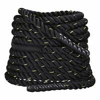 FOBUY Battle Rope Undulation Fitness Exercise,38mm,12M/15M (38mm*9m)
