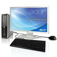 """PC Komplett Set + Acer 24""""TFT Computer Pentium 2x2.8 GHz 8GB RAM +SSD +HDD Win10"""