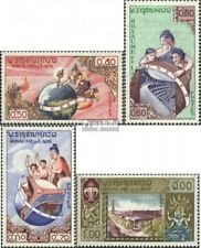 Laos 85-88 postfris 1958 UNESCO-Bouwen in Parijs