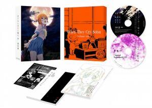 New Higurashi When They Cry Sotsu Vol.1 Blu-ray Soundtrack CD Booklet Japan