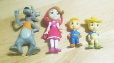 Disney Big Bad Wolf, Red Riding Hood, And Little Pigs Figures Toys