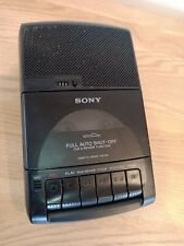 Vintage Sony Cassette Corder Tape Recorder - Black (TCM-939)