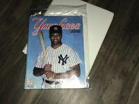 Gem mint Danny Tartabull Cover New York Yankees Scorebook  Souvenir Program 1992