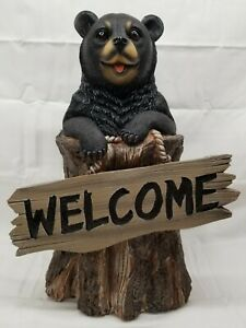 Welcome Bear In Statues Lawn Ornaments For Sale In Stock Ebay