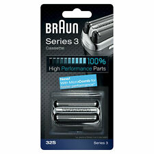 Braun 81483732 Series 3 Replacement Shaver Head - Silver