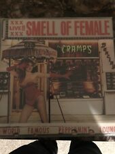 THE CRAMPS Smell of Female LP 1983 Chrysalis ORIG US PRESS Used
