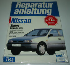 Reparaturanleitung Nissan Sunny LX SLX 100 NX GTI Trend Pulsar 75 - 143 PS NEU!