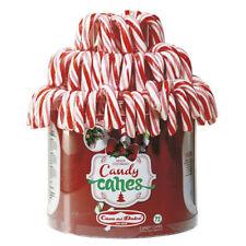 BASTONCINI DI CARAMELLE CANDY CANES FRAGOLA E PANNA 14GR -25 PZ- CASA DEL DOLCE