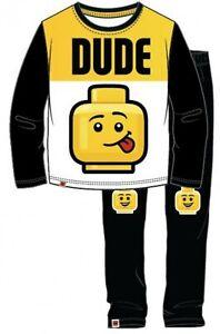Lego Long Sleeve Boys  Kids  Pyjama Set PJ's Officially Licensed