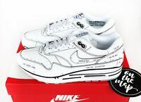 Nike Air Max 1 Tinker Sketch To Shelf White Black Schematic UK 5 7 8 9 10 11 12