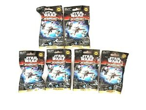 Star Wars Micro Machines Fantasy Scene Series 5 Hasbro Gold Series Lot of 6