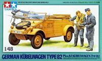Tamiya 32501 1/48 Military Model Kit German Luftwaffe Pkw.K1 Kubelwagen Typ 82