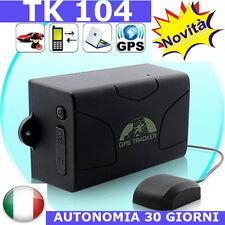 LOCALIZZATORE SATTELLITARE GPS TRACKER TK 104 MAGNETICO AUTONOMIA 30 GIORNI