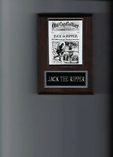 JACK THE RIPPER PLAQUE EAST END WHITECHAPEL WHITEHALL MYSTERY CRIME