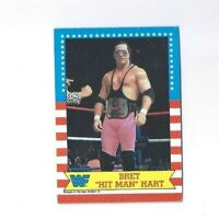 1987 Topps WWF WWE  BRET HART The Hit Man  ROOKIE CARD LOT OF 2 CARDS HOT INVEST