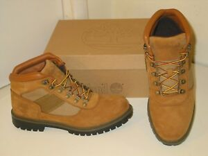 Timberland Nmrkt New Market Camp Nubuck Leather Lt. Brown Boots Shoes Mens 9.5