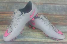 Nike Mercurial Vortex II Fg Football Chaussures Rivets Gris Victory Vapor 9 Uk Taille 8