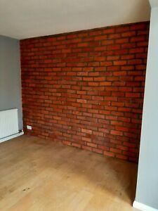 reclaimed effect brick tiles
