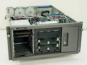 ML370 HP 533MHz Compaq Proliant Server with CD-R Drive - Missing Parts - As Is