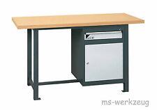 Jordan Metec 20613/84623 Werkbank mit Stahlblechschrank