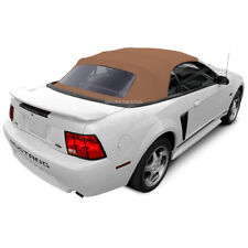 Ford Mustang Convertible Top 1994-2004 Saddle Sailcloth, Plastic Window