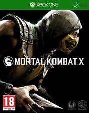 Mortal Kombat X Xbox One * NEW SEALED PAL *