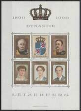 Luxemburg postfris 1990 MNH block 16 - Dynastie 100 Jaar (X914)