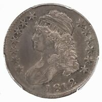 1812 Capped Bust 50C PCGS Certified XF40 Nice Original Surfaces