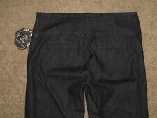 KUT From The Kloth Size 4 Dark Blue Stretch Denim Womens Trousers New With Tag