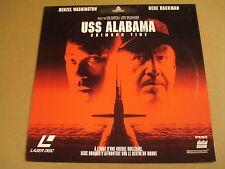 LASERDISC VERSION FRANCAISE / USS ALABAMA ( DENZEL WASHINGTON, GENE HACKMAN )