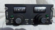 Douglas DC-9 & Boeing 737 Pilot's Dual DME Control Console Box