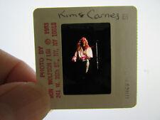 Original Press Photo Slide Negative - Kim Carnes - 1983 - E