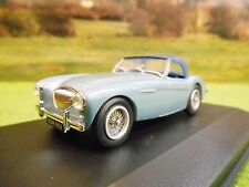 OXFORD AUSTIN HEALEY 100 BN1 WITH HOOD 1/43  IN DISPLAY CASE AH1001