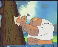 Ren & Stimpy Original Production Cel Cell Animation Art 90s COA Lair of Lummox