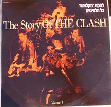 1988 punk rock DBL LP-the story of the clash-rare different israeli non gatefold